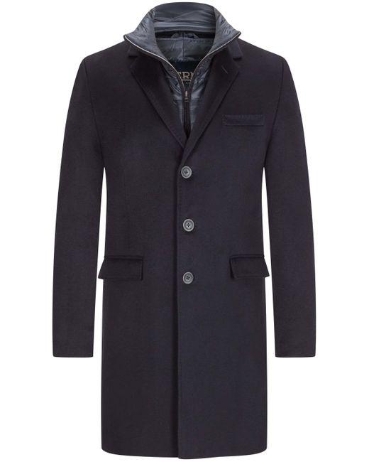 Herno Cashmere-Mantel in Blue für Herren