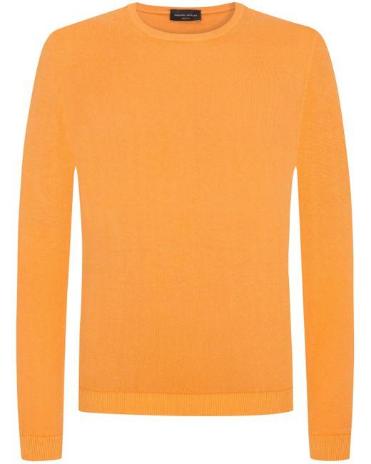 Roberto Collina Pullover in Orange für Herren