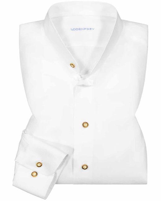 Lodenfrey Trachtenhemd in White für Herren