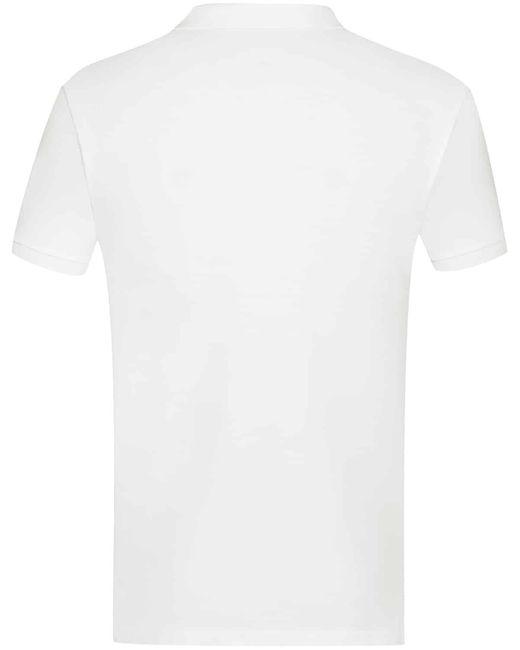 Polo Ralph Lauren Polo-Shirt Custom Slim Fit Mesh in White für Herren