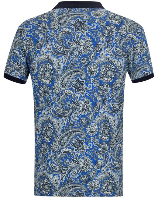 Etro Polo-Shirt in Blue für Herren