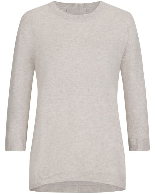The Mercer N.Y. Gray Cashmere-Pullover