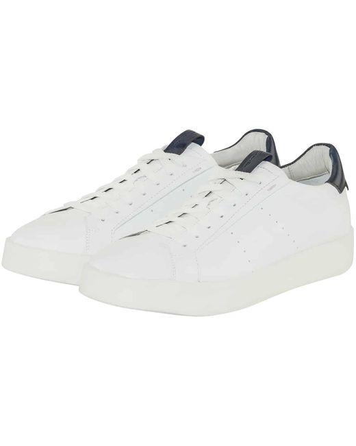 Santoni Sneaker in White für Herren