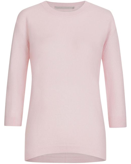 The Mercer N.Y. Pink Cashmere-Pullover