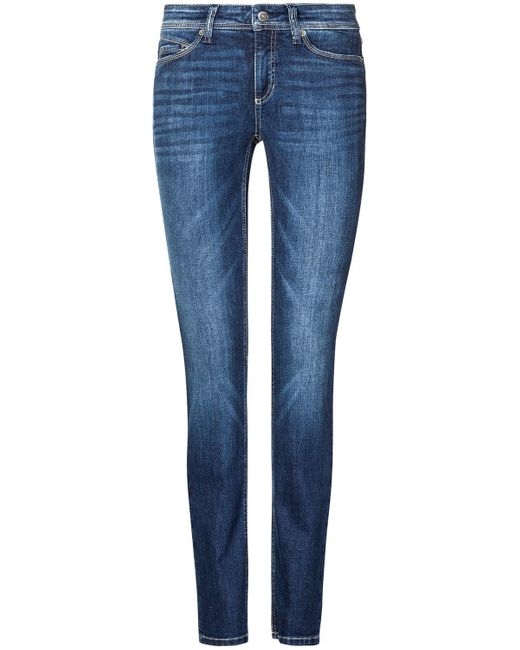 Cambio Blue Parla Jeans Mid Rise