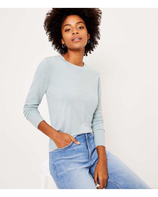 LOFT Multicolor Petite Everyday Sweater