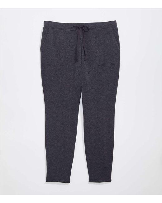 LOFT Gray Plus Lou & Grey Signature Softblend Sweatpants