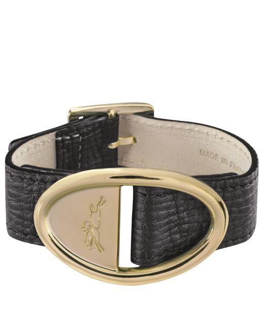 Bracelet Mailbox Longchamp en coloris Black