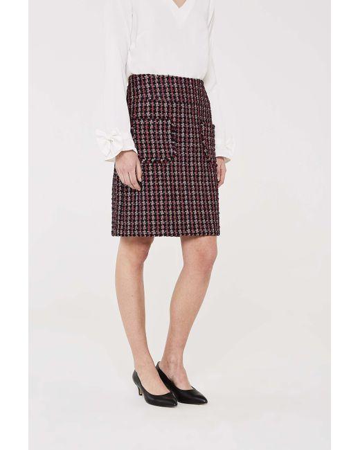 0ae6046f9b02e0 Long Tall Sally - Multicolor Tall Sparkle Tweed Skirt - Lyst ...