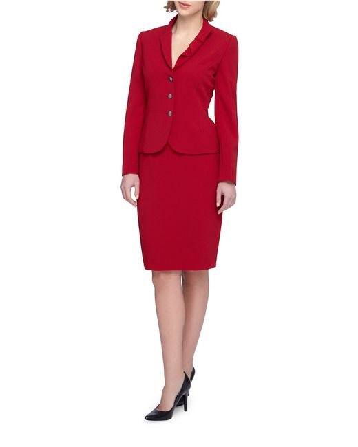 Shawl Collar Skirt Suit - Free Hd Tube Porn-4252