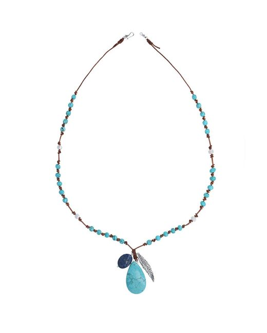 Chan Luu | Blue Shale Beaded Necklace | Lyst
