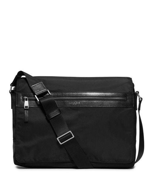 Michael Kors - Black Parker Nylon Messenger Bag for Men - Lyst