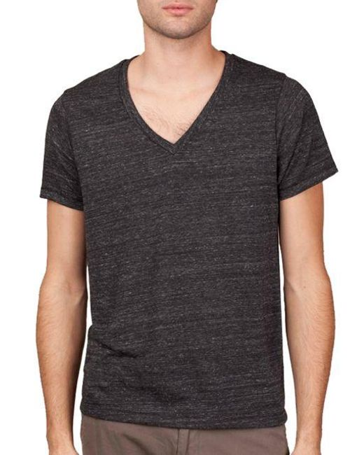 Alternative Apparel | Black Boss V-neck T-shirt for Men | Lyst