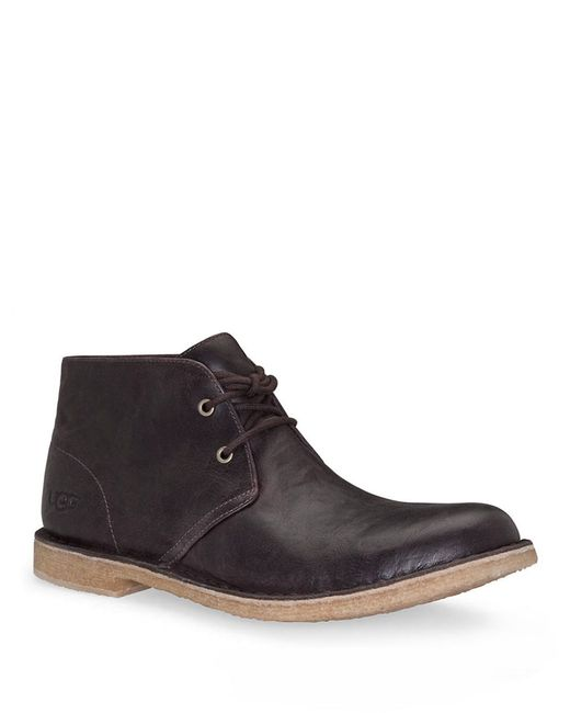 Ugg | Brown Leighton Chukka Boot for Men | Lyst