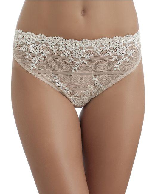 Wacoal | Natural Embrace Lace High-cut Brief | Lyst