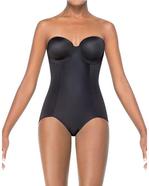 Spanx | Black Boostie-yay Bra-top Slimming Bodysuit | Lyst