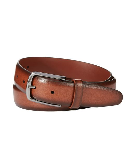 Perry Ellis | Brown Reversible Leather Belt for Men | Lyst
