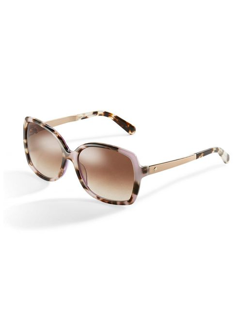 Kate Spade | Pink Darilynn 58mm Square Sunglasses | Lyst