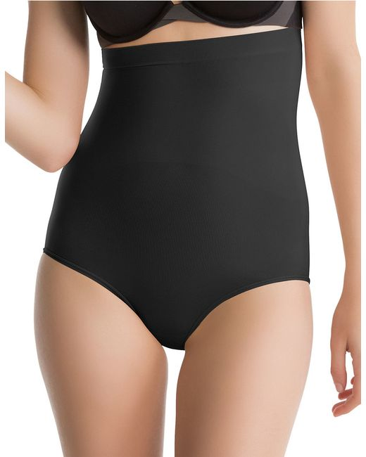 Spanx | Black Higher Power Panty | Lyst