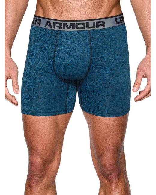 Under Armour | Blue Original Series Heatgear Twist Boxerjocks for Men | Lyst