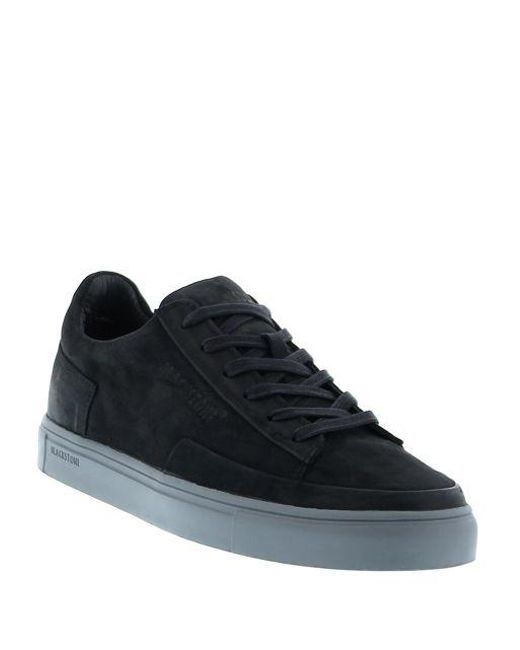 Blackstone | Black Leather Lace-up Sneakers for Men | Lyst