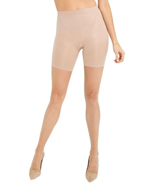 Spanx   Natural Super Shaping Sheers Tights   Lyst