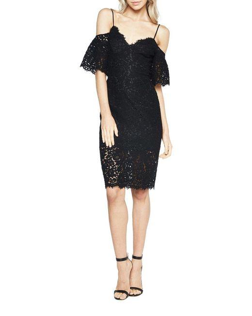 Bardot   Black Karlie Lace Dress   Lyst