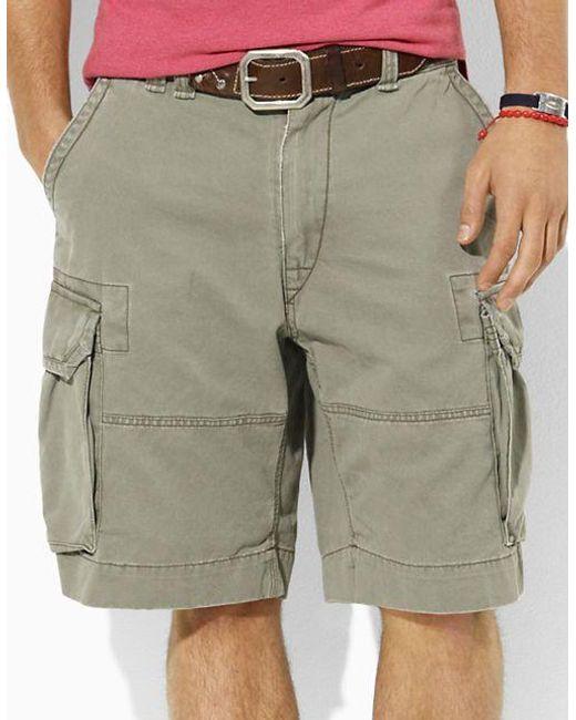 Polo Ralph Lauren   Green Classic Cargo Shorts for Men   Lyst