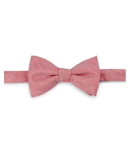 Cole Haan   Red Silk-linen Bow Tie for Men   Lyst