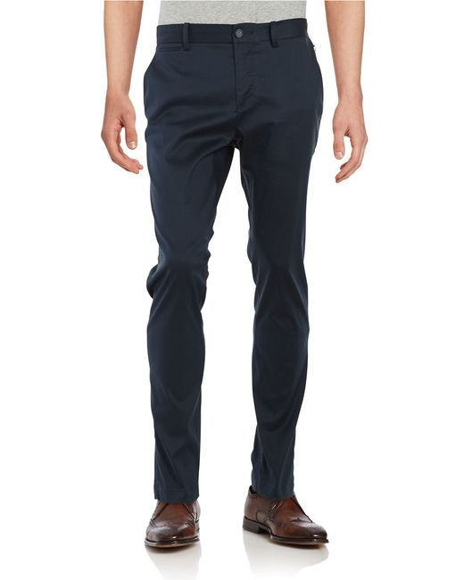 Original Penguin | Blue P55 Slim Fit Stretch Chino for Men | Lyst