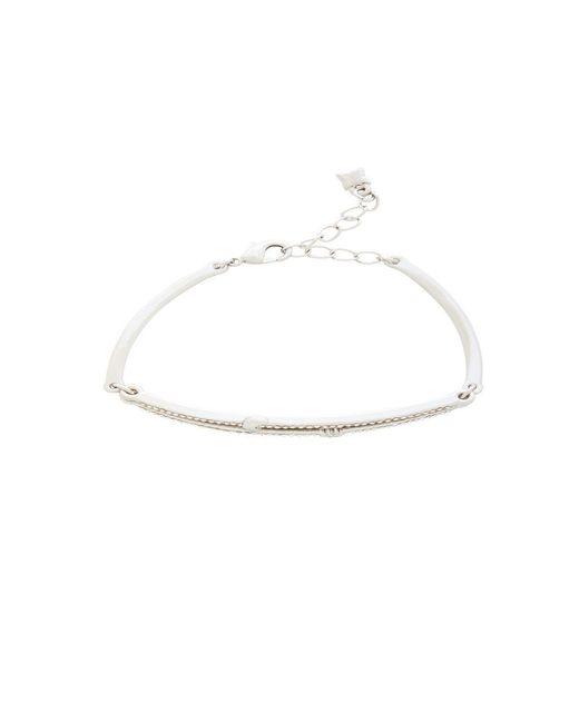 BCBGMAXAZRIA   Metallic Celestial Stone Bracelet   Lyst