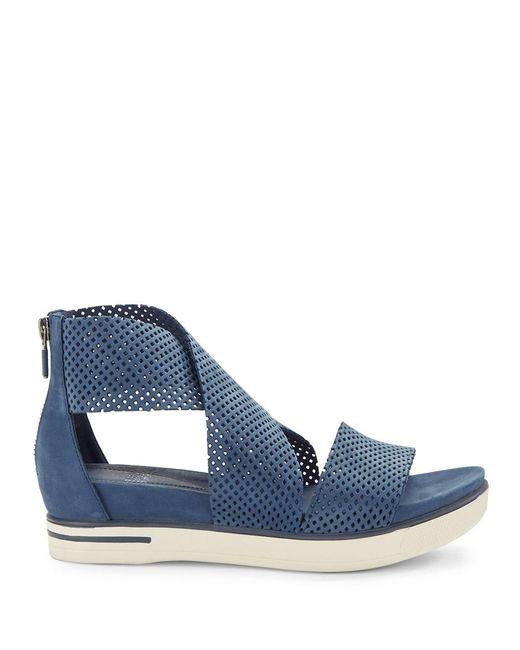Eileen Fisher Sport2 Platform Sandals In Blue Lyst