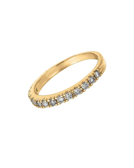 Morris & David | Metallic Diamond, 1 Tcw And 14k Yellow Gold Ring | Lyst