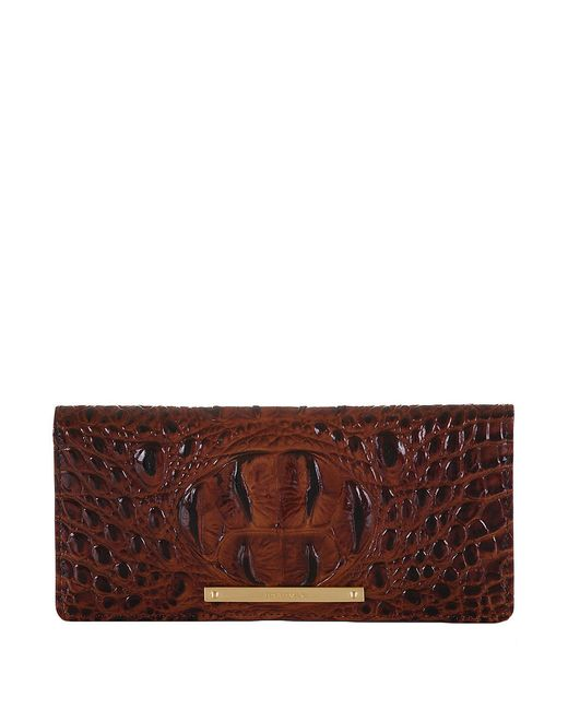 Brahmin | Brown Melbourne Ady Wallet | Lyst
