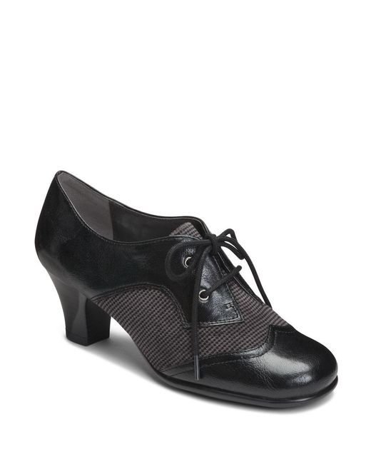 Aerosoles | Black Aristocrat High Heel Oxfords | Lyst