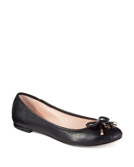 Kate Spade | Black Willa Ballet Flats | Lyst