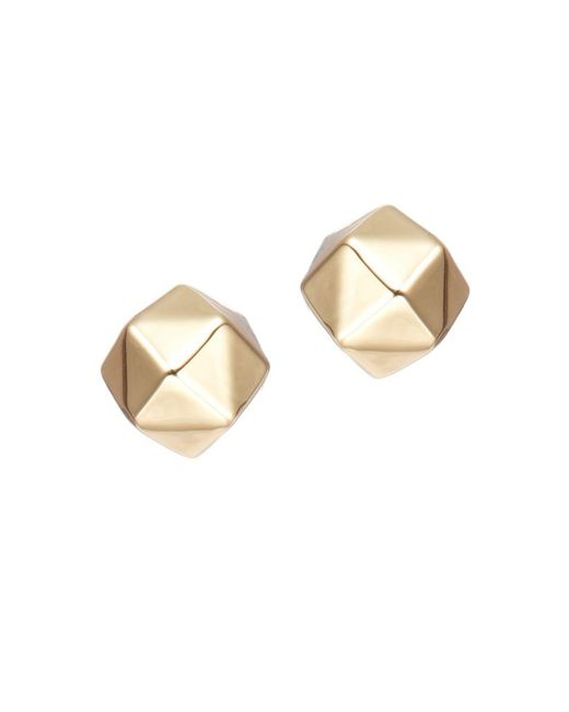 Trina Turk | Metallic Geo Shaped Ball Studs | Lyst