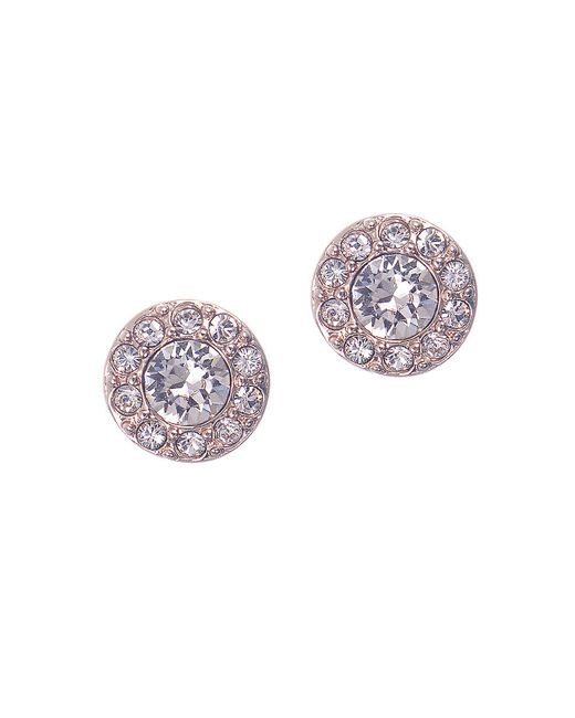 Givenchy | Pink Pave Stud Earrings | Lyst
