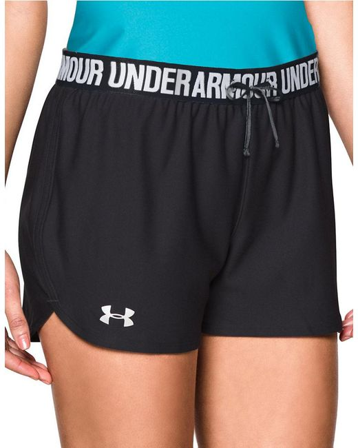 Under Armour | Black Play Up Athletic Shorts | Lyst