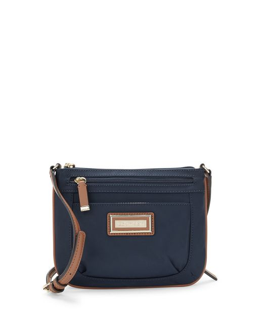 Calvin Klein | Blue Nylon Crossbody Bag | Lyst