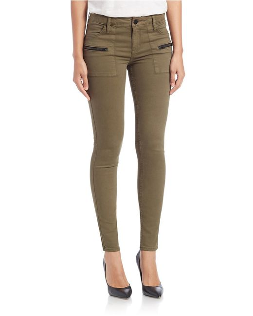 Sanctuary | Green Ace Utility Skinny Jeans | Lyst