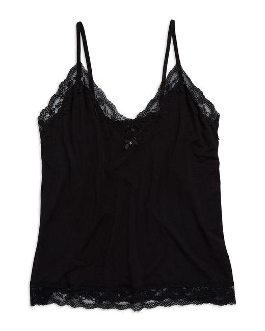 Flora Nikrooz | Black Lace Trim Cami | Lyst