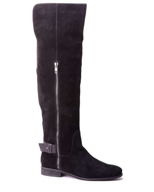 Splendid | Black Polly Suede Boots | Lyst