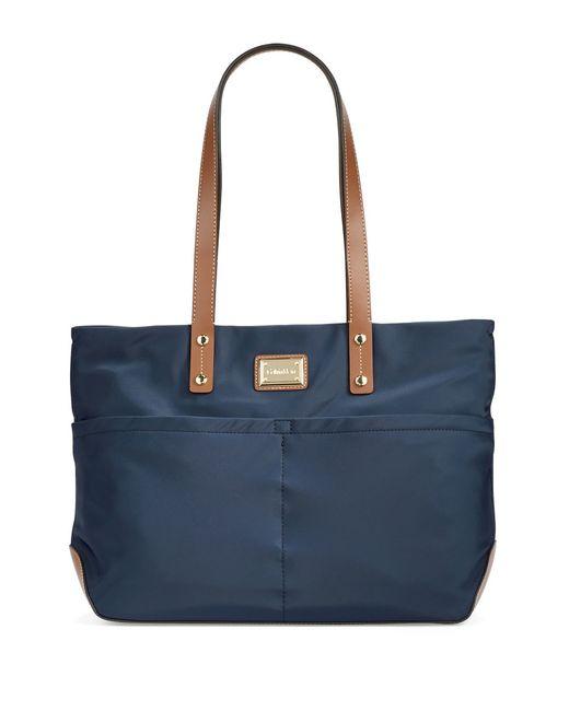 Calvin Klein | Blue Nylon Tote Bag | Lyst
