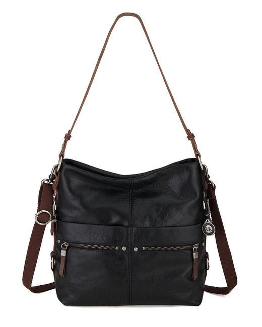 The Sak | Black Sanibel Bucket Bag | Lyst