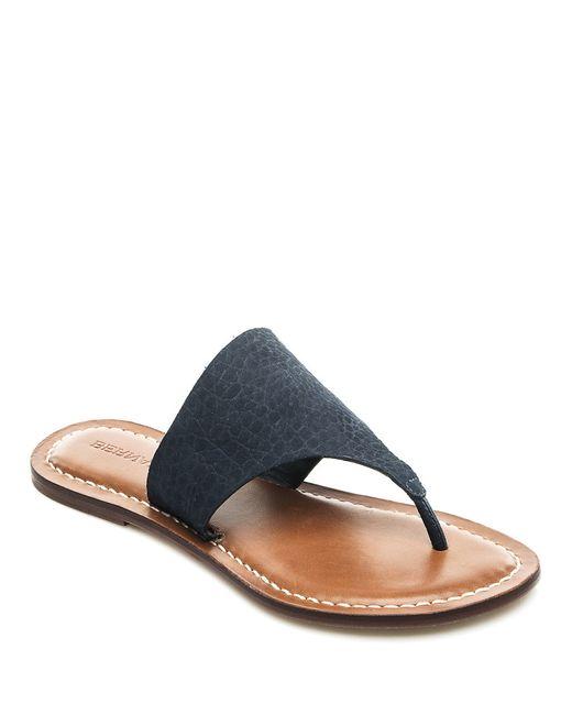 Bernardo | Blue Bernardo 'monica' Thong Sandal | Lyst