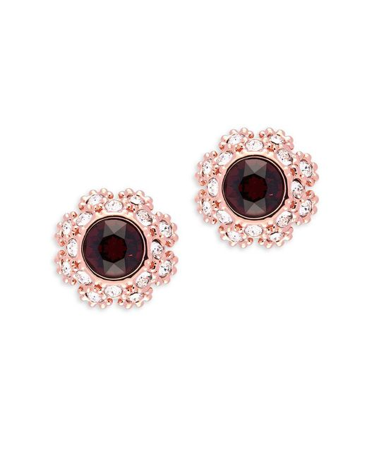 Ted Baker - Multicolor Crystal Daisy Lace Crystal Serra Stud Earrings - Lyst