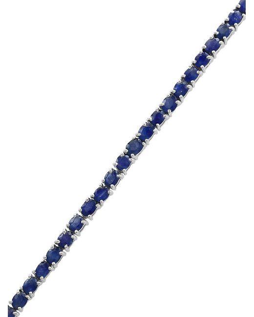 Effy - Blue Precious Stone & Sterling Silver Tennis Bracelet - Lyst