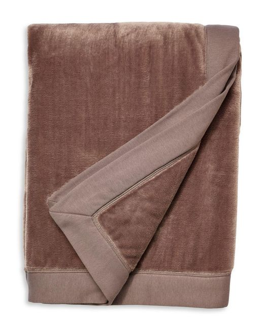 Ugg - Brown Duffield Throw Blanket - Lyst