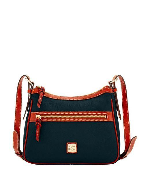 Dooney & Bourke - Black Piper Leather Crossbody Bag - Lyst